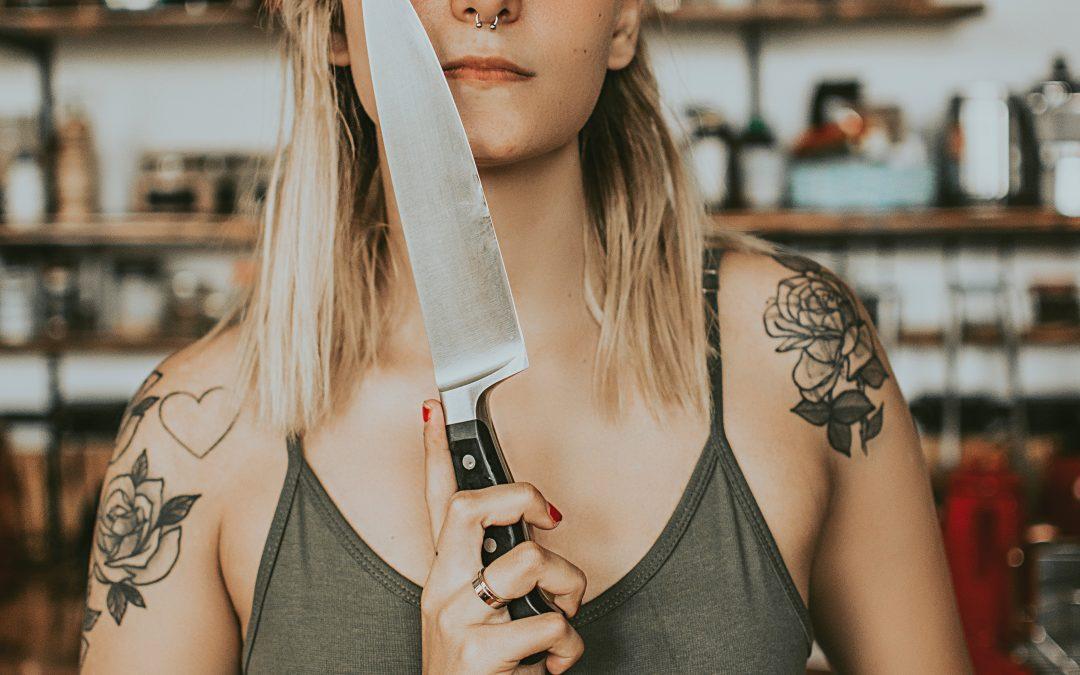 Késsel igazságot osztani nem lehet